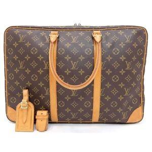 Louis Vuitton suitcase travel bag Sirius monogram